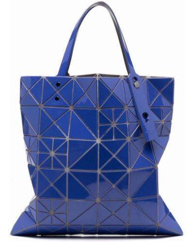 Niebieska torebka z nylonu Bao Bao Issey Miyake