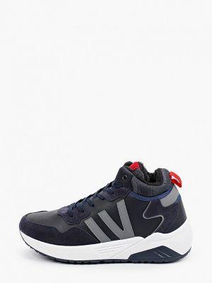 Синие демисезонные кроссовки Patrol