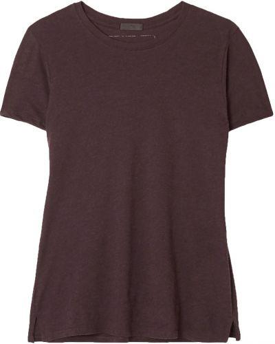 Brązowy t-shirt bawełniany Atm Anthony Thomas Melillo