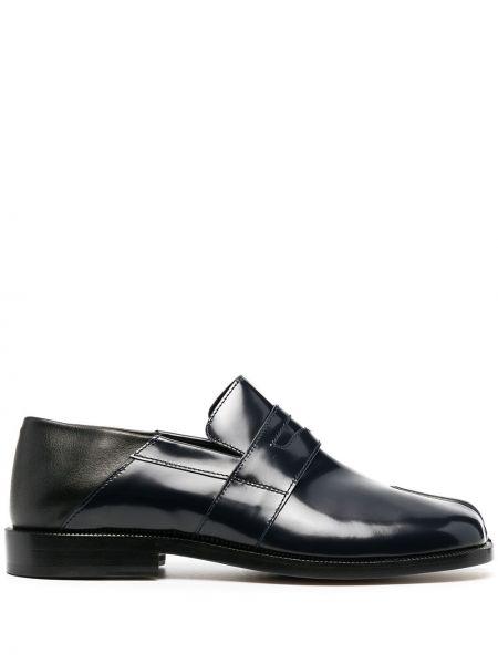 Кожаные черные лоферы на каблуке Maison Margiela