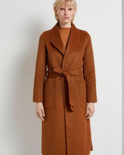 Коричневое пальто Tom Tailor