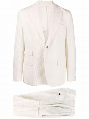 Klasyczny garnitur - biały Eleventy