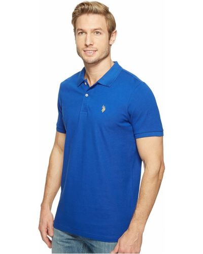 Поло - синий U.s. Polo Assn.