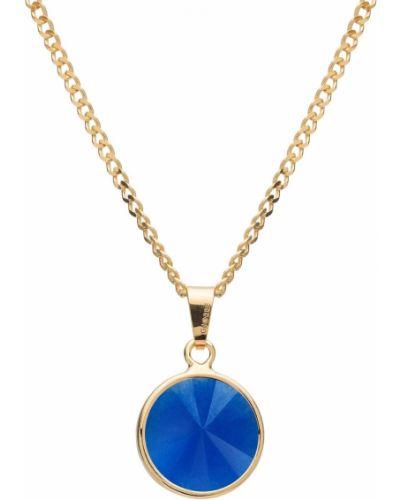 Niebieski złoty naszyjnik Giorre