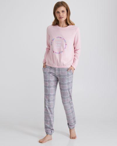 Розовая пижама Ellen