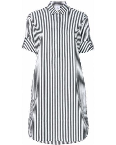 Платье макси рубашка в полоску хлопковое Akris