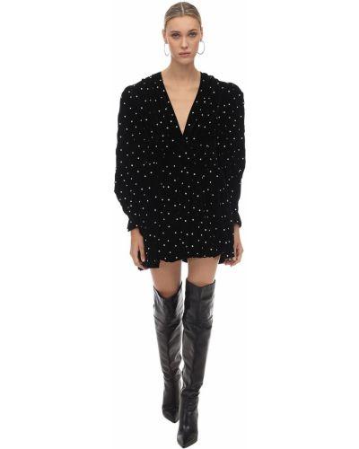 Платье с поясом на пуговицах с V-образным вырезом Dodo Bar Or