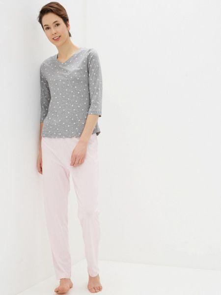 Пижама розовый серая Nymos