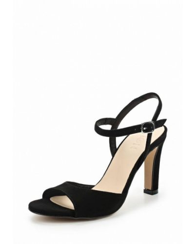 Черные босоножки на каблуке Zign