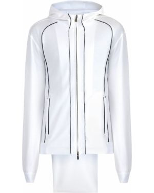 Спортивный костюм белый с капюшоном Enrico Mandelli