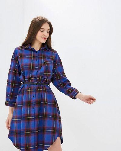 Платье - синее Mazal