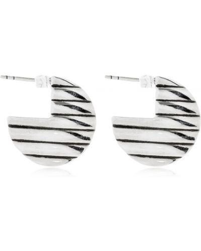 Kolczyki sztyfty srebrne Philippe Audibert
