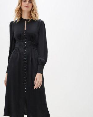 Вечернее платье осеннее черное Marks & Spencer