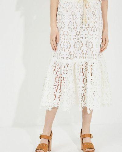 Белая юбка See By Chloe