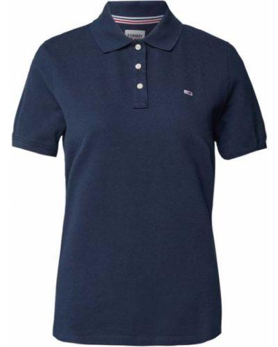 T-shirt bawełniana - niebieska Tommy Jeans