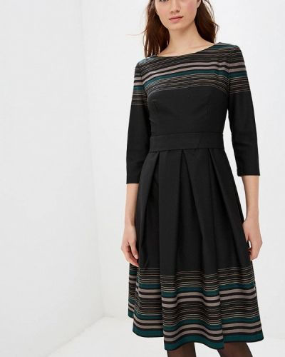 Платье осеннее черное Anastasia Kovall