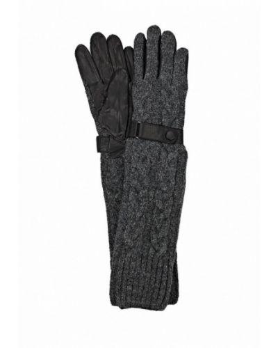 Серые перчатки Labbra