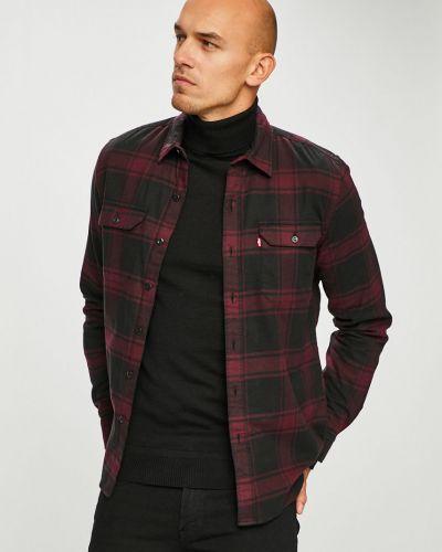 Рубашка с длинным рукавом в клетку хлопковая Levi's®