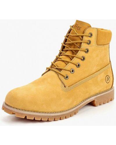 Желтые ботинки осенние Affex