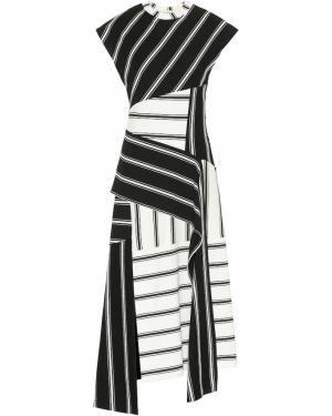 Платье в полоску черно-белое Monse