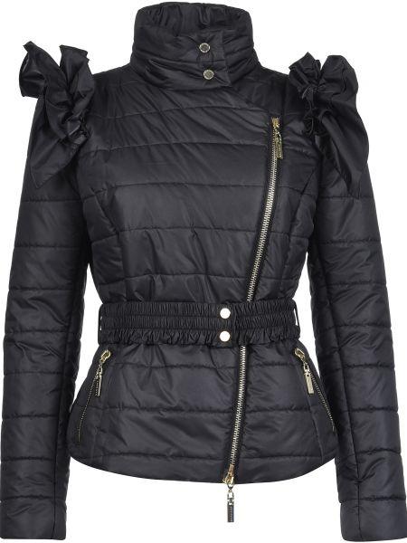 Куртка осенняя черная Mangano