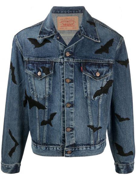 С рукавами синяя джинсовая куртка с воротником Levi's®