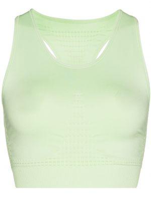 Zielony biustonosz sportowy Sweaty Betty