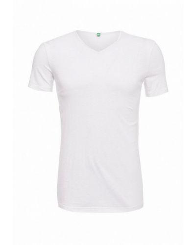 Белая футболка United Colors Of Benetton
