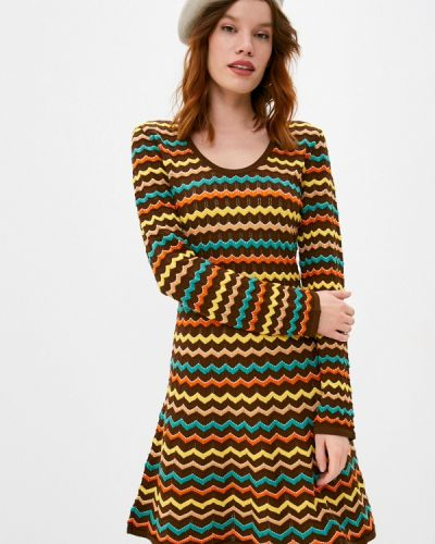 Платье - коричневое Missoni