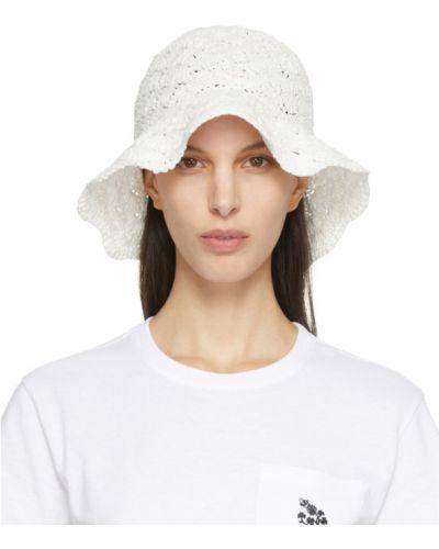 Biały kapelusz Red Valentino