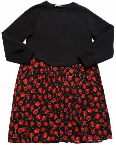 Платье макси длинное - черное N21