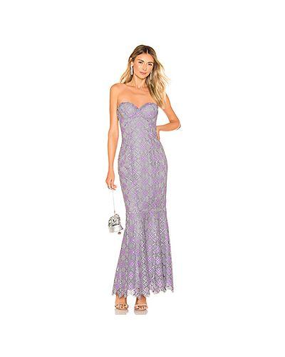 Вечернее платье на молнии с чашками Majorelle