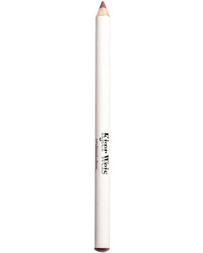 Aksamit ołówek do ust matowy z ozdobnym wykończeniem Kjaer Weis