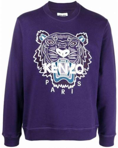 Fioletowy sweter Kenzo