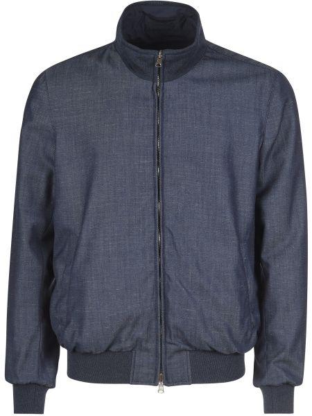 Куртка двусторонняя - синяя Enrico Mandelli