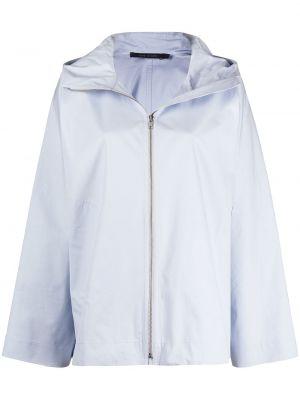 Синяя куртка с капюшоном на молнии Sofie D'hoore