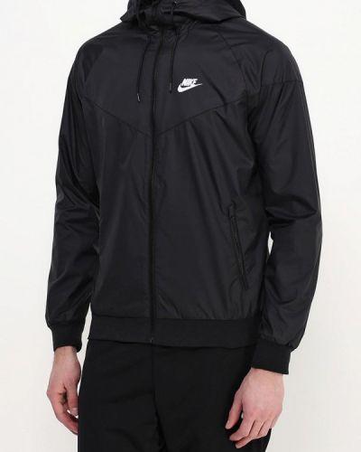 Куртка черная осенняя Nike