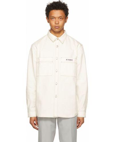 Koszula jeansowa - biała Misbhv