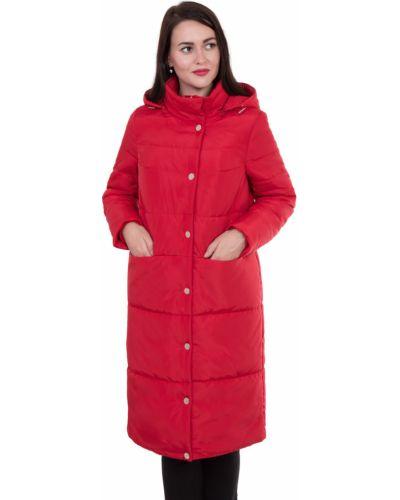 Зимнее пальто с капюшоном на кнопках J-splash