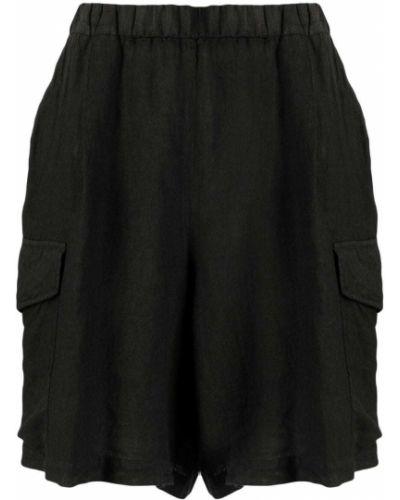 Черные шорты с карманами Barena