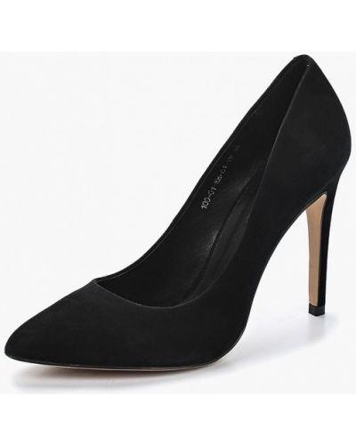Черные туфли-лодочки Calipso