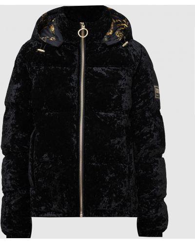 Джинсовая куртка - черная Versace Jeans Couture