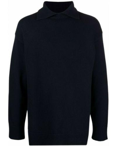 Niebieska t-shirt Jil Sander