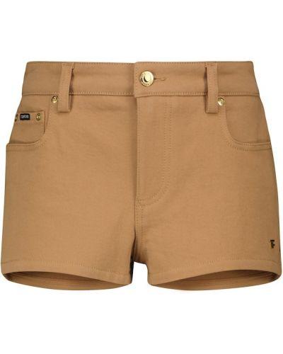 Коричневые джинсовые джинсовые шорты Tom Ford