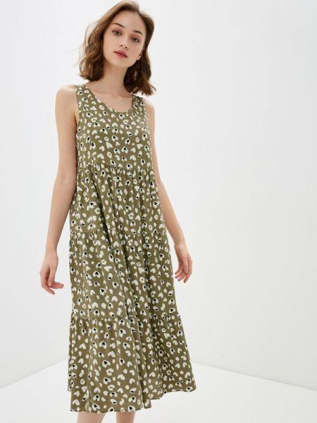 Платье хаки Bulmer