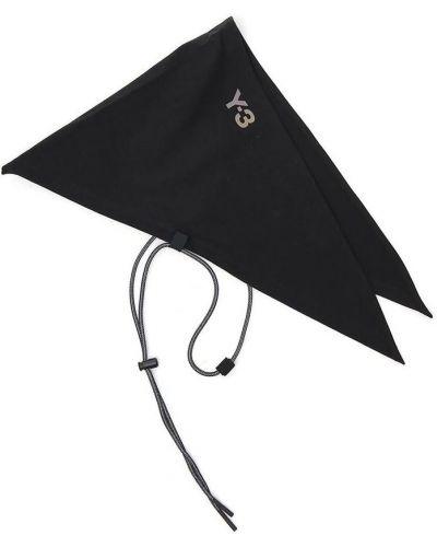 Czarna bandana z printem Y-3