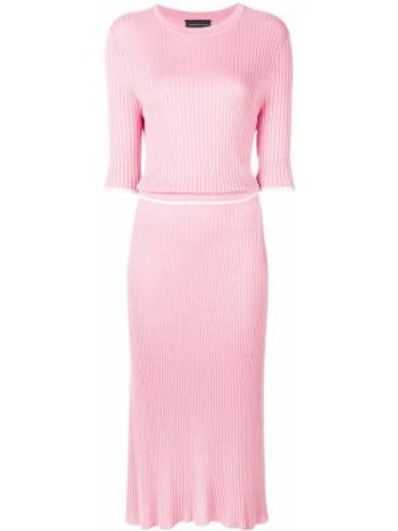 Розовое платье миди Cashmere In Love