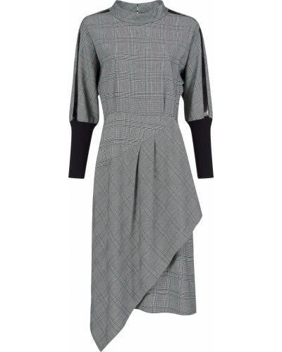 Платье из вискозы - серое Sfizio