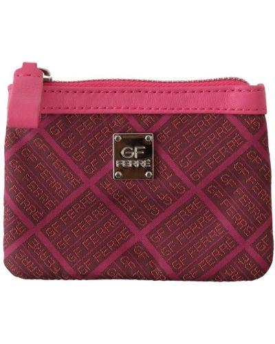 Różowy portfel Gf Ferre