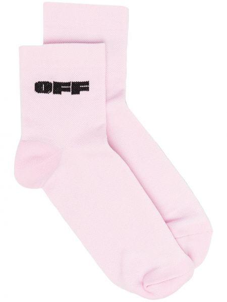 Белые носки эластичные Off-white